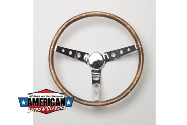 Grant Lenkrad - Classic Wood Steering Wheels 38cm
