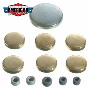 Froststopfen Ford 1958-97 V8 429 430 432 460 462 Lincoln Mercury Freeze Plugs