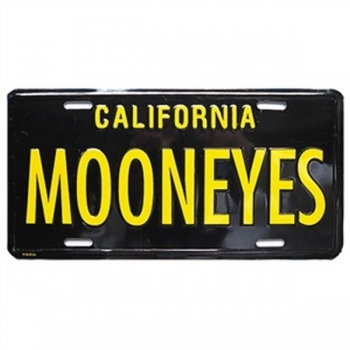 MOONEYES US Kennzeichen License Plate MQQN California