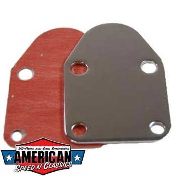 Benzinpumpenabdeckung Chevrolet Small Block V8 - Fuel Pump Block Off Plate