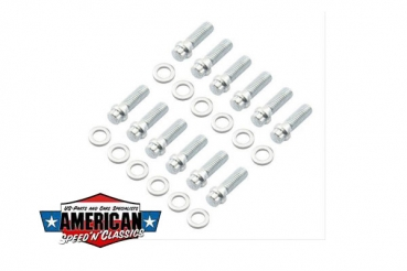 Ansaugspinnenschrauben Set Chevrolet Chrysler Small Block Mr.Gasket