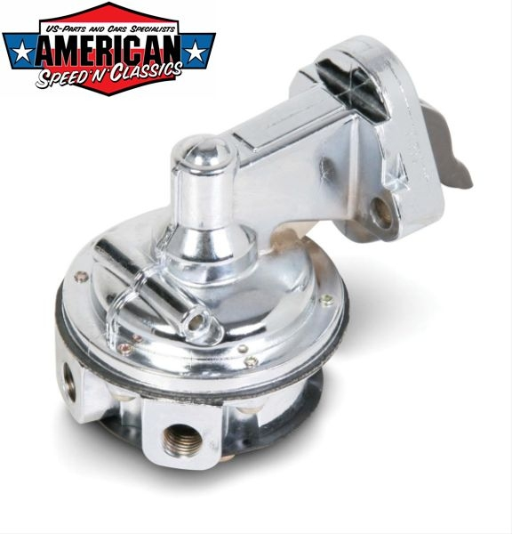 Holley Benzinpumpe GM 1955-88 Chevrolet Small Block Chrom High Performance