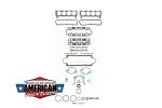 Motordichtsatz Ford 1962-83 260-302cu Pro Engine Gasket Kits FS8548PT-16